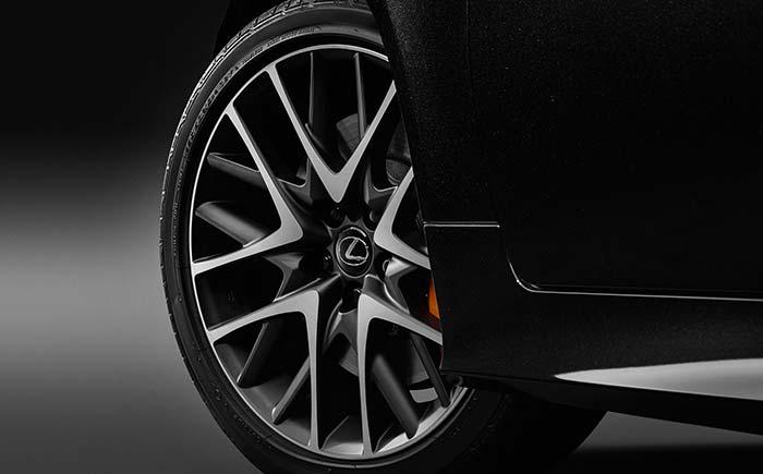 フロント235/40R19+リヤ265/35R19タイヤ&専用マットクリア塗装アルミホイール(切削光輝)&ブラックナット