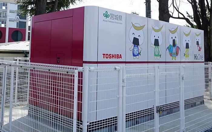 東芝エネルギーシステムズ、自立型水素エネルギー供給システムを宮城で運転開始