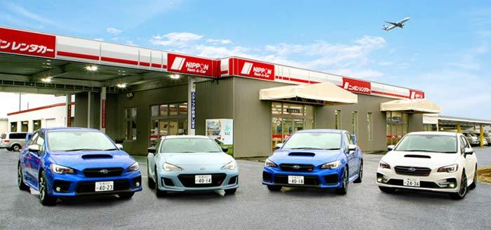 対象車両:(左から)スバル WRX S4、BRZ STI Sport、WRX STI、レヴォーグ STI Sport