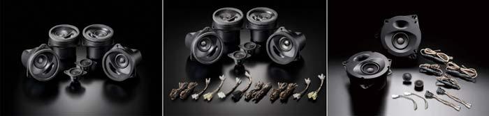 搭載製品:(左から)SonicPLUS「SFR-S01E(スタンダードモデル)」「SFR-S01M」(ハイグレードモデル) 「SP-862(スタンダードモデル)」