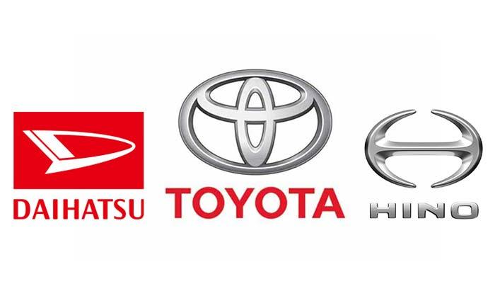 トヨタ、ダイハツ、日野自動車・ロゴ