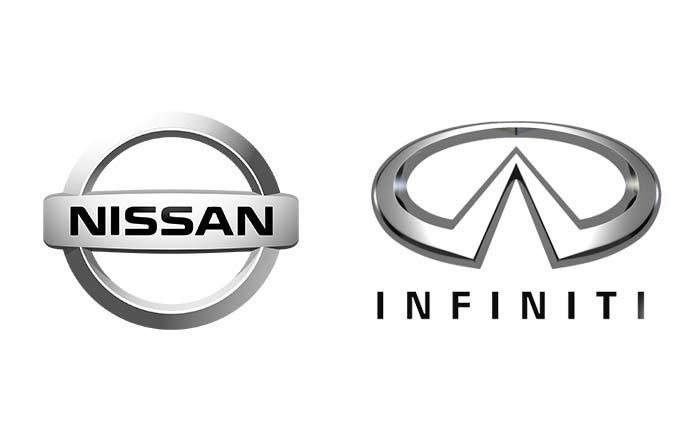 日産自動車とインフィニティ・ロゴ