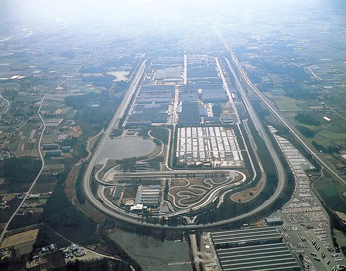日産・栃木工場・テストコース