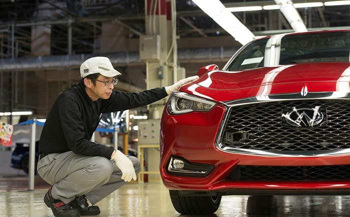 日産自動車、栃木工場でインフィニティの新型スポーツクーペ「Q60」を本格生産(2016年08月10日)