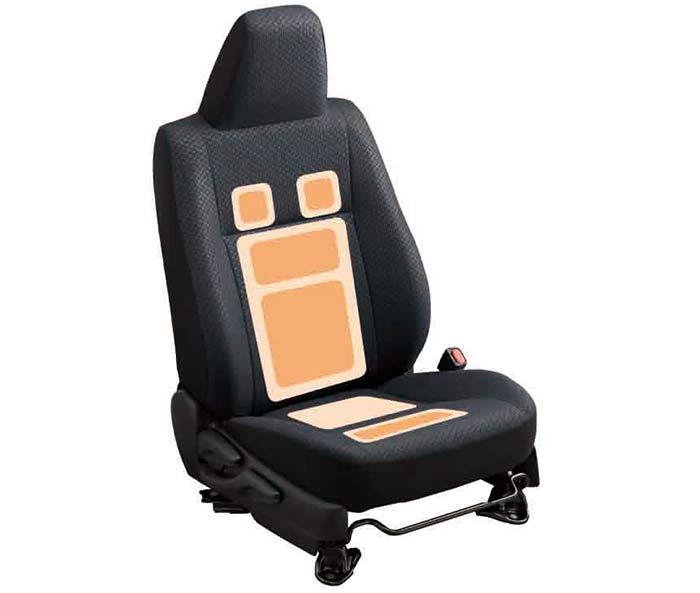 シートヒーター(HV車)。運転席オプション