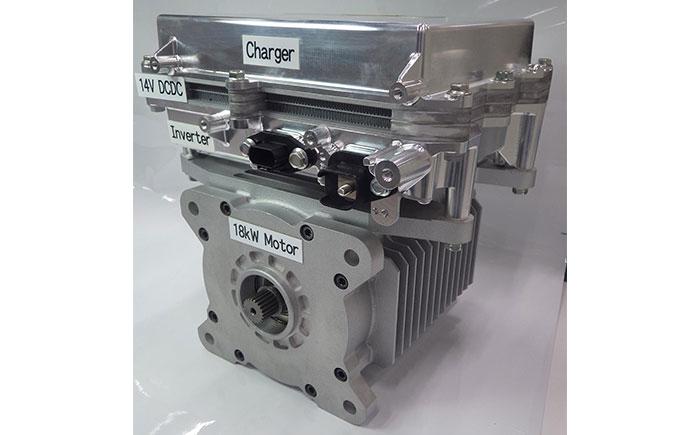 ePowertrain CES2019モデル:容量 10リットル/重量 29キログラム