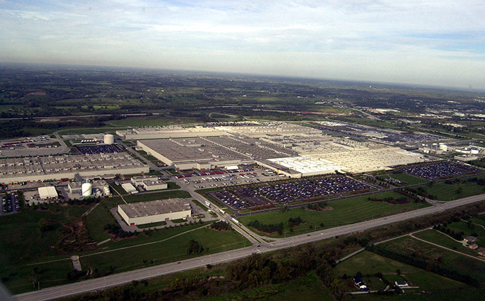 Toyota Motor Manufacturing, Kentucky, Inc. (TMMK) 外観