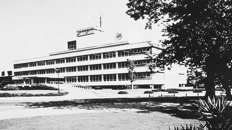 トヨタ本館(現 旧本館)(完成当時)(1960年)
