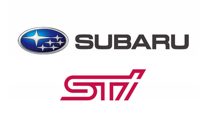 スバルとSTI・ロゴ