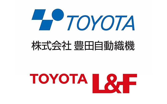 トヨタL&F + 豊田通商・ロゴ