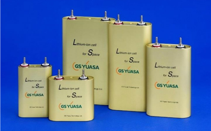 GYT製の宇宙用リチウムイオン電池(セル)
