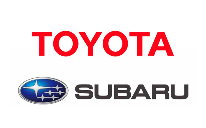トヨタとスバル・ロゴ