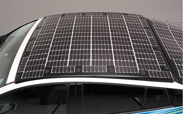 複数の太陽電池セルにより構成された太陽電池パネル