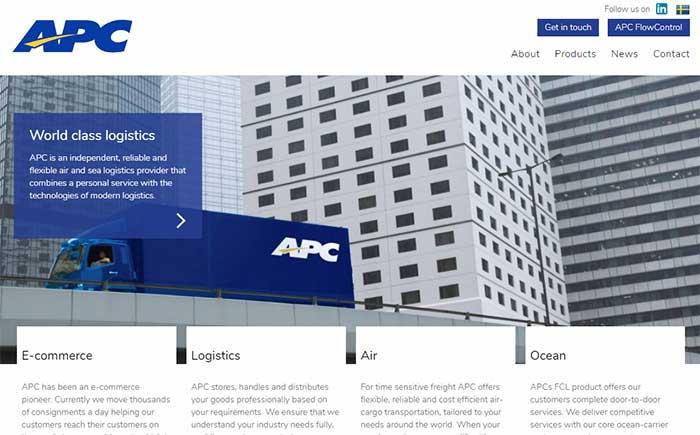 APC LOGISTICS・HP
