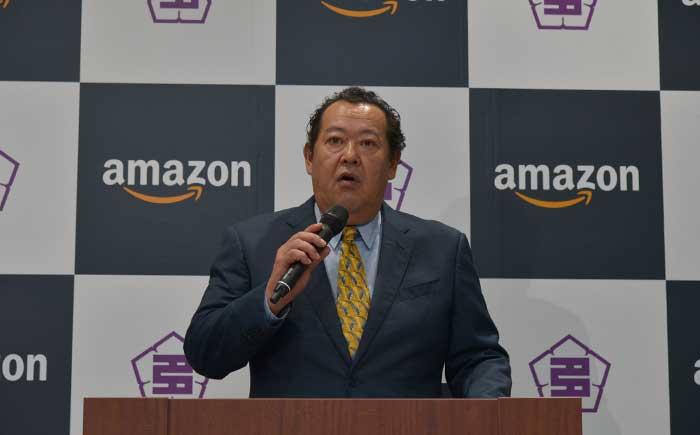 アマゾンジャパン合同会社社長のジェフ=ハヤシダ氏