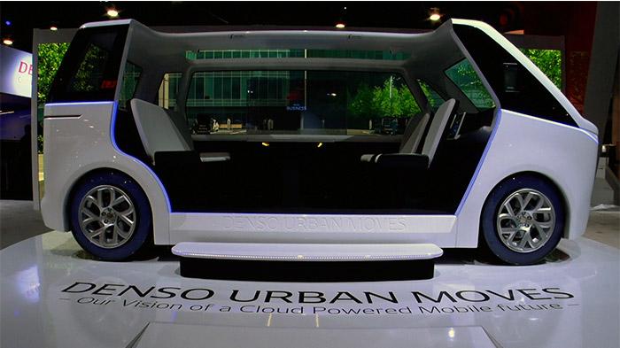 コネクティッドモックカー「DENSO URBAN MOVES」イメージ