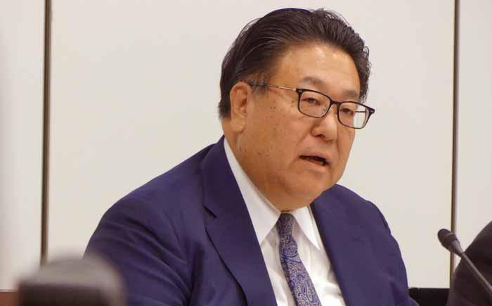 代表取締役副社長、倉石誠司氏