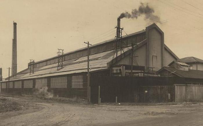 1942年当時の四日市工場