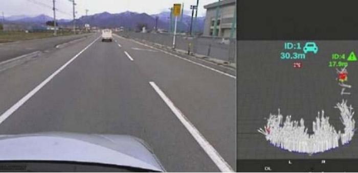 道路面環境検出(イメージ)