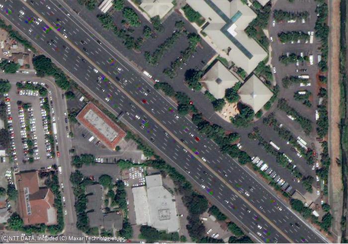 図1.衛星画像(海外)