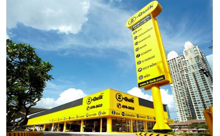 BQ社のバンコク店舗