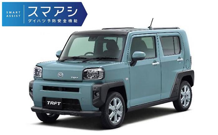 最新の「スマートアシスト」採用の新型軽クロスオーバー「タフト」(2020年6月発売)