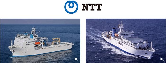 NTTワールドエンジニアリングマリンの「きずな」と「すばる」