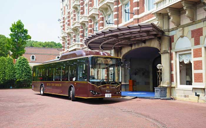 大型電気バス「K9」
