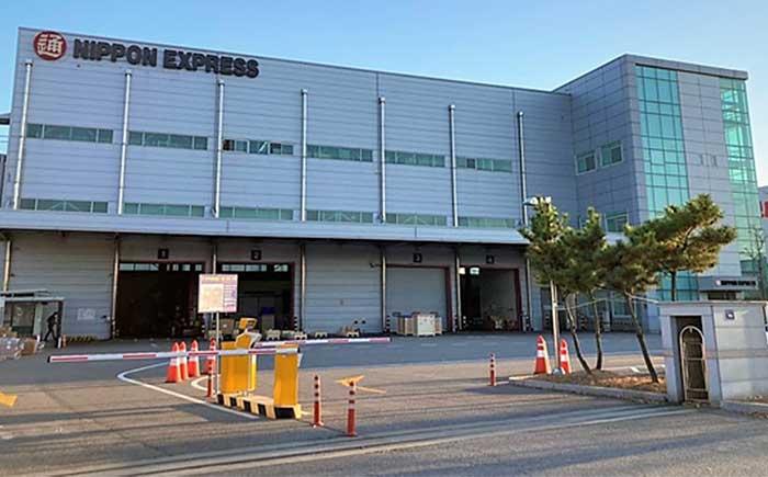 韓国日通仁川空港倉庫