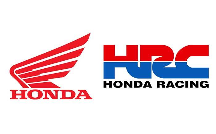 ホンダ&HRC・ロゴ