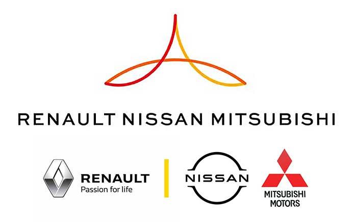 ルノー・日産・三菱自動車アライアンス・ロゴ