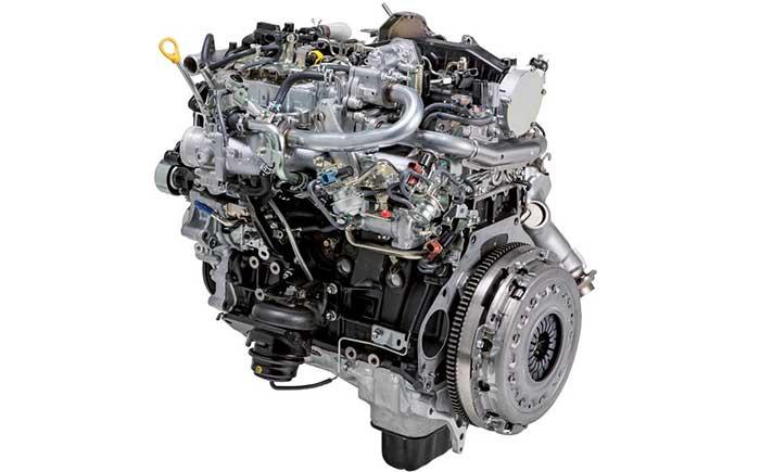 1GD型ディーゼルエンジン。