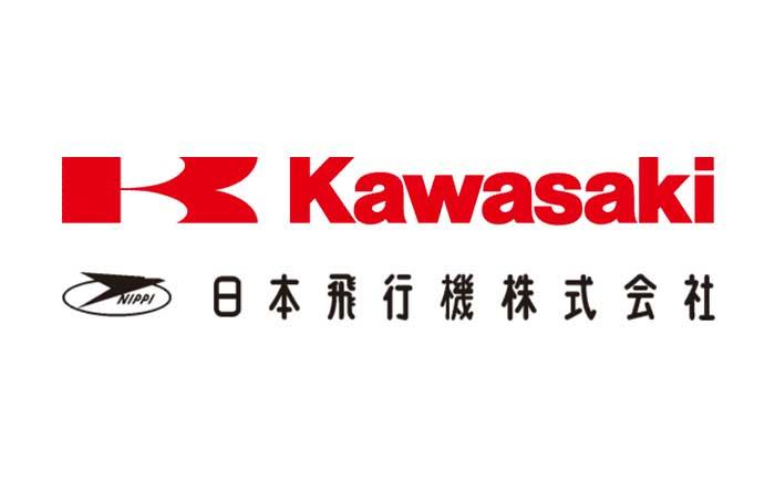 川崎重工+日本飛行機・ロゴ